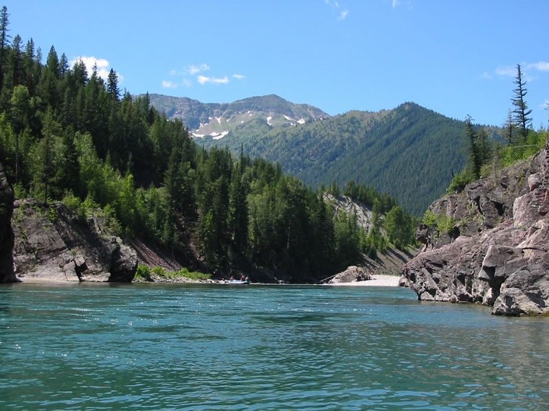 Snowy Springs Middle Fork Flathead River